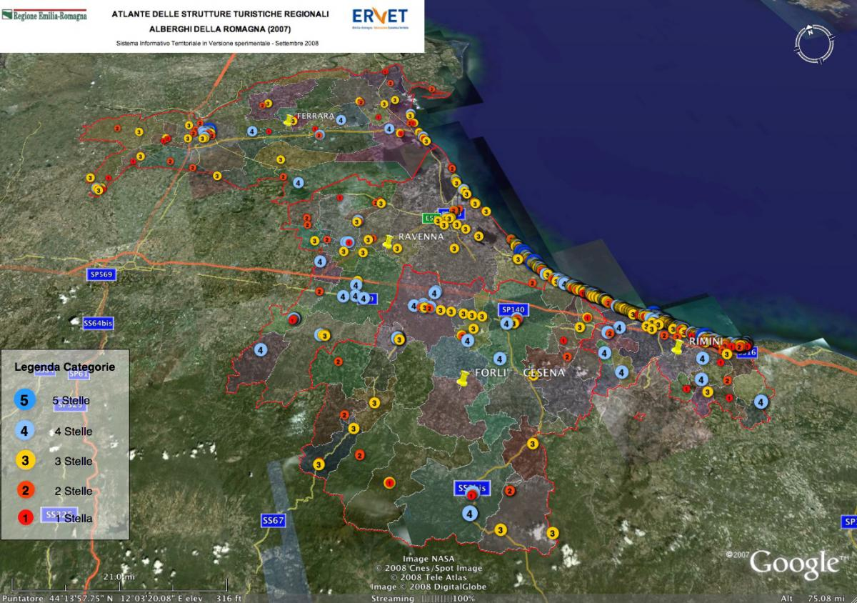 Web GIS 20 Touristic Geographic Information System of Hotels in